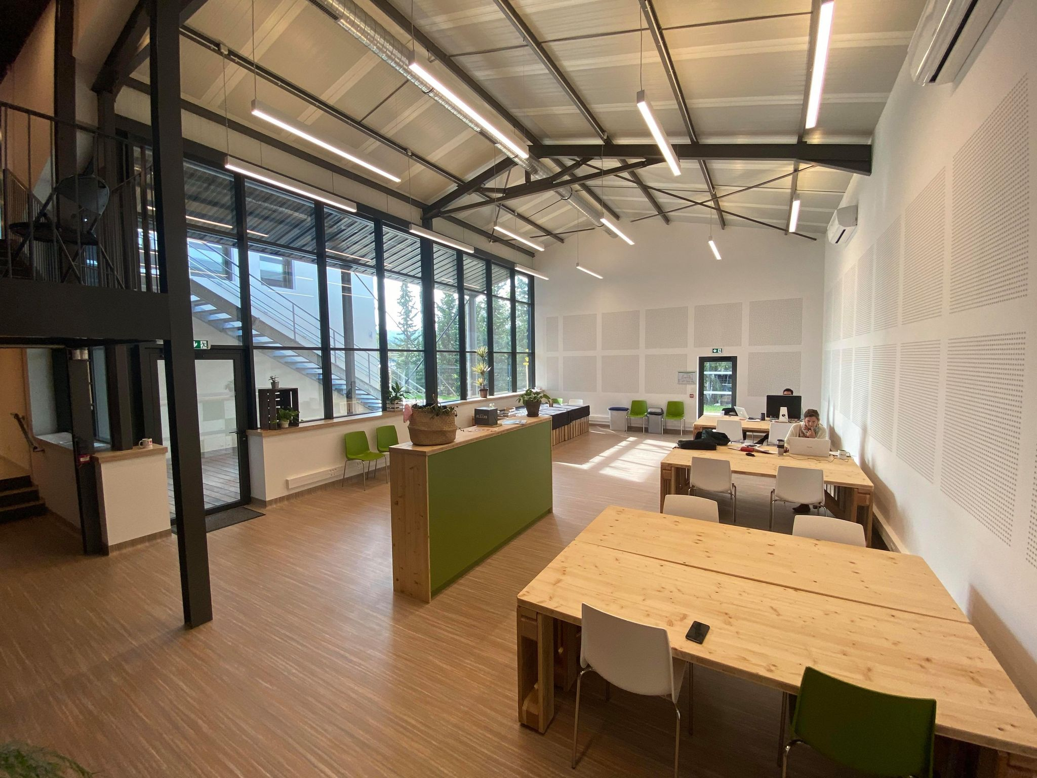 coworking open space